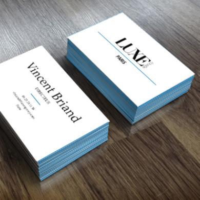 En Effet La Carte De Visite Est Un Support Papier Et Comme Tous Les Supports Vous Etes Oblige Den Imprimer Il Donc Fortement Conseille